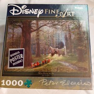Disney's Fine Art Snow White 1000 Peice Puzzle